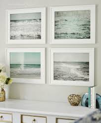 four square beach framed wall art rectangle white wooden canvas picture image printable taable accessories  on beach framed canvas wall art with wall art designs top beach framed wall art ocean framed wall art
