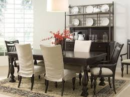 red parson chairs in leather covers black and chevron parson chairs with oval wooden dining table