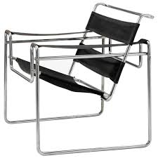 Very Early Wassily Chair, Model B3 by Marcel Breuer 1