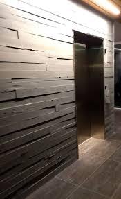beautiful board form concrete walls by