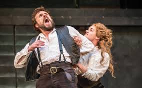 taming the shrew two ways shakespeare for the stage and the page problem play edward macliam petruchio and aoife duffin katherine in the