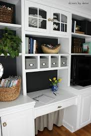 home office home. Brilliant Office Home Office Bookcase With Black Backdrop And Skirt Under Desk To Hide Cord  Clutter Intended Office