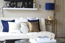 6 easy ways to update accent decor royal blue gold jaleesa