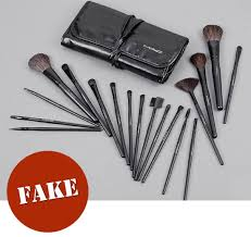spot identify fake mac cosmetics