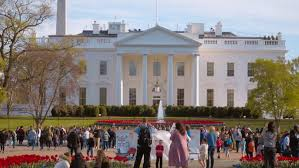 us president office. The White House In Washington - Home And Office Of US President WASHINGTON DC Us T
