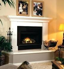 decorating fireplace hearth decor no vent free gas fireplaces mantel