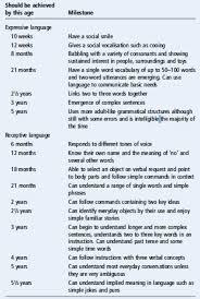 Language Development Chart Custom Paper Example