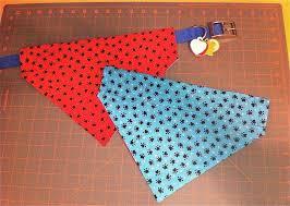 reversible over the collar dog bandana bandanas dog and dog fashion