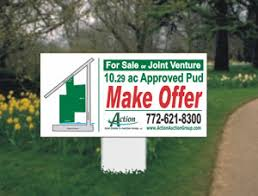 Make A For Sale Sign Commercial Real Estate Signs 1 800 The Sign 24 Hour Turn