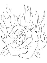 Picture coloring pages roses 38 for coloring print with coloring. Rose Coloring Pages Printable Free Rose Coloring Pages Princess Coloring Pages Flower Coloring Pages