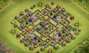 top  clash of clans maps