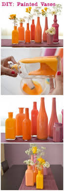 DIY Painted Vases. Diy Painted VasesPainted BottlesPaint ...