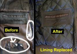 problems torn ripped lining solution replace with new lining