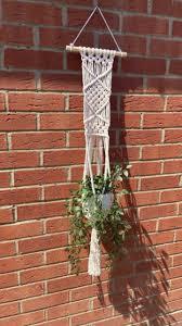 handmade braided macrame rope hanging