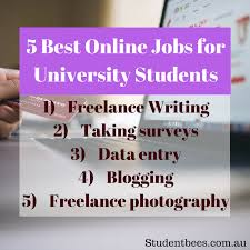 best online jobs for university students studentbees blog online jobs online job university students