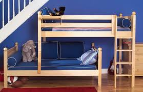 High Quality Parallel Bunk Bed Natural