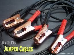 Jumper Cable Size Chart Jumper Cables Buying Guide Gauge Length Clamp