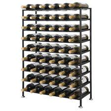 cheap wine racks for sale. Metal Wine Rack 54 Bottle Large Freestanding Iron Storage Organizer Decor On Cheap Racks For Sale