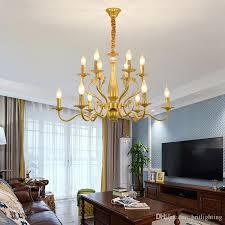 american candle chandeliers living room bedroom gold black chandelier lights retro restaurant lamp dining room creative chandelier lighting dining room
