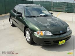 2000 Chevrolet Cavalier Sedan in Dark Colorado Green Metallic ...
