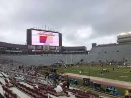 Doak Campbell Seating Chart Rows Photos At Bobby Bowden Field At Doak Campbell Stadium