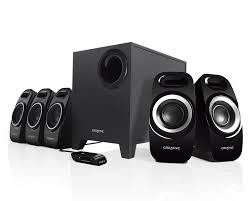 speakers system. creative inspire t6300 5.1 surround speaker system - labs (united states) speakers