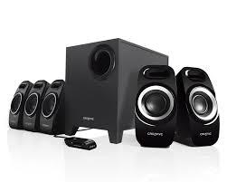 speakers. creative inspire t6300 5.1 surround speaker system - labs (united states) speakers r
