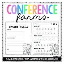 Parent Teacher Conference Form Template. Sample Invitation Letter ...