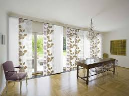 beautiful window treatments sliding glass doors