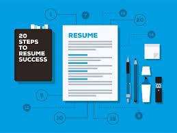 how to write a job winning resume me 20 steps to resume success