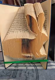 how to fold book pages into bunnies recycled book art ideas finecraftguild