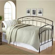 Morris Bedroom Furniture Morris Metal Daybed In Magnesium Pewter By Hillsdale Furniture