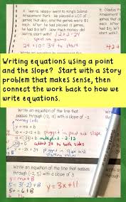 198 best expressions and equations images on teaching writing in standard form given two points