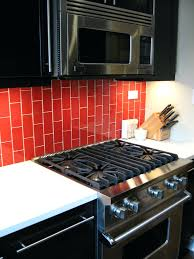 red glass backsplash tile lush cherry red glass subway tile subway tiles  kitchen lush cherry red