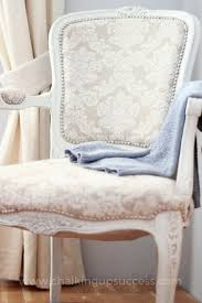 french style chair makeover series