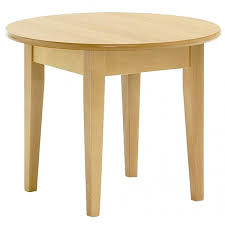 light wood coffee table 743s from