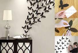 diy wall decor paper. Diy Wall Art Ideas Paper Butterflies Decor