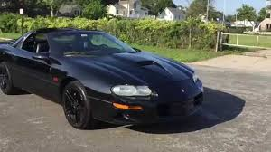2002 Camaro SS 35th Anniversary Edition T-Tops Start Up, Exhaust ...