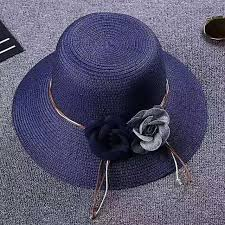 Paper Flower Hats Summer Casual Paper Flower Sun Hat Beach Hat For Women In Sun Hats From Womens Clothing Accessories On Aliexpress Com Alibaba Group