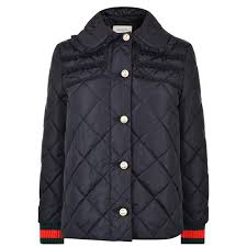 Gucci   Quilted Ribbon Bomber Jacket & 360 View Play Video Zoom Adamdwight.com
