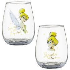 337239 disney tumbler glass set tinkerbell 2