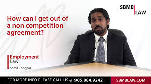how to get out of a non competition agreement how to get out of a non competition agreement