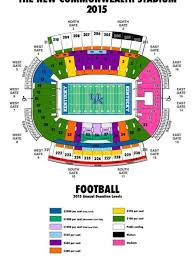 Commonwealth Stadium Seating Chart Exhaustive New Kyle Field Seating Chart Commonwealth Stadium