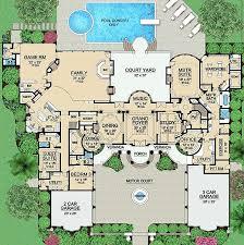 Best 25 6 Bedroom House Plans Ideas On Pinterest Luxury Floor Luxury Floor Plans