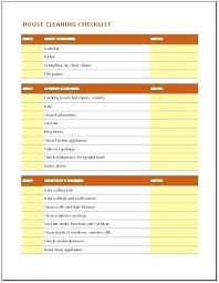 Daily Weekly Monthly House Cleaning Checklist Schedule