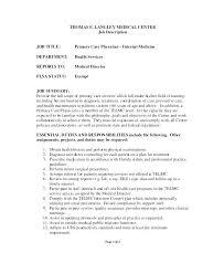 Waiter Job Description – Resume Letter Collection