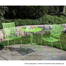 lime green patio furniture. Perfect Lime Green Bistro Table And Chairs Set Patio Furniture