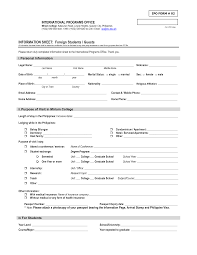 12 Biodata Format For Job Application Formal Buisness Letter