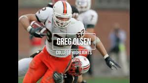 Greg Olsen College Highlights - YouTube