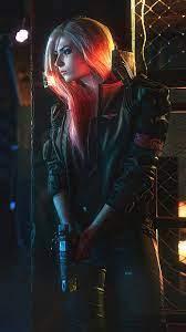 Cyberpunk 2077 Girl 4K Wallpaper #3.2273